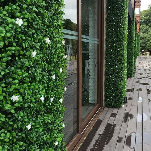 Jardines Verticales Artificiales - Variedad Boj Flor