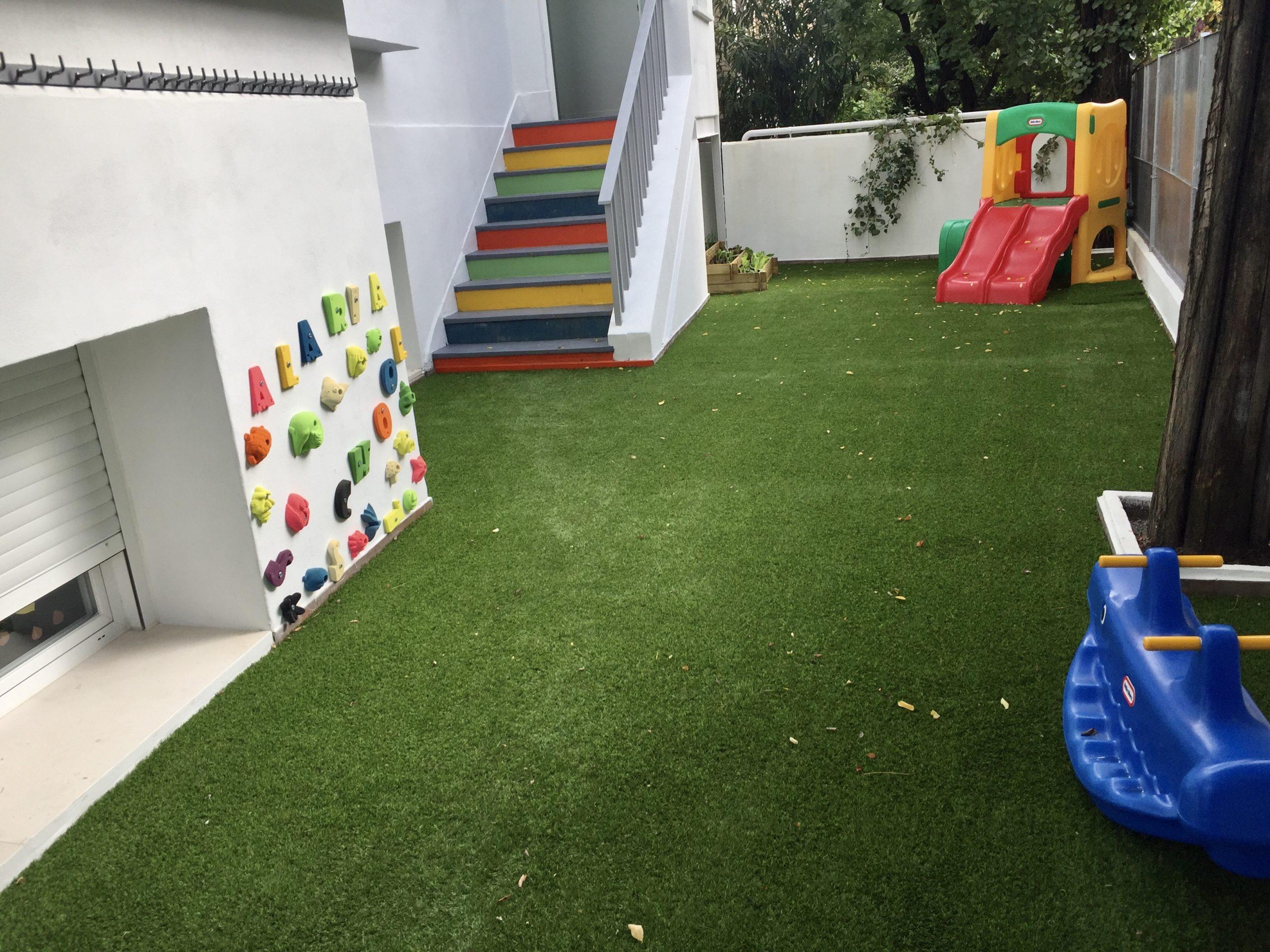 Césped Artificial para Zonas Infantiles