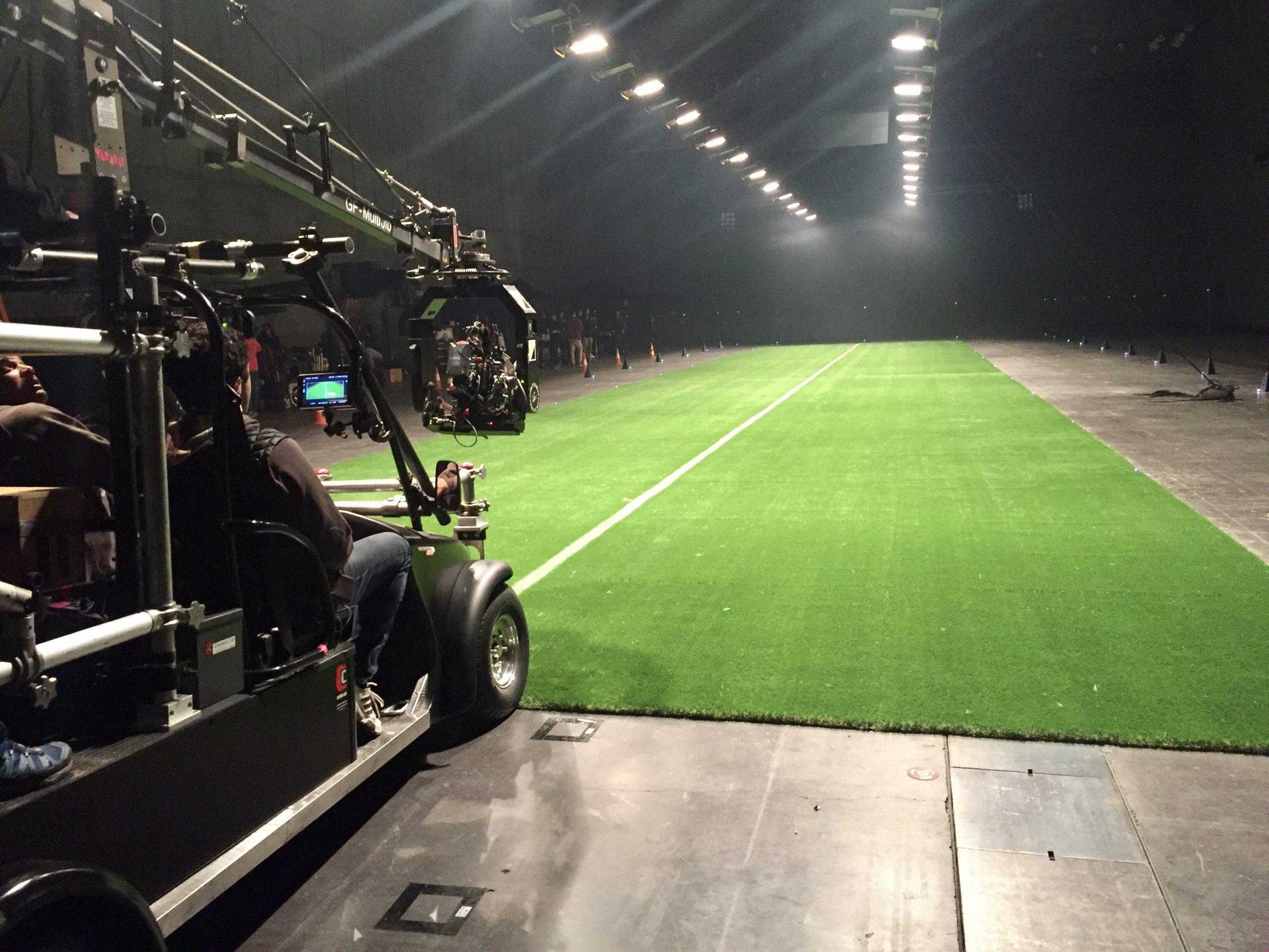 Césped Artificial para rodajes de Cine y Televisión