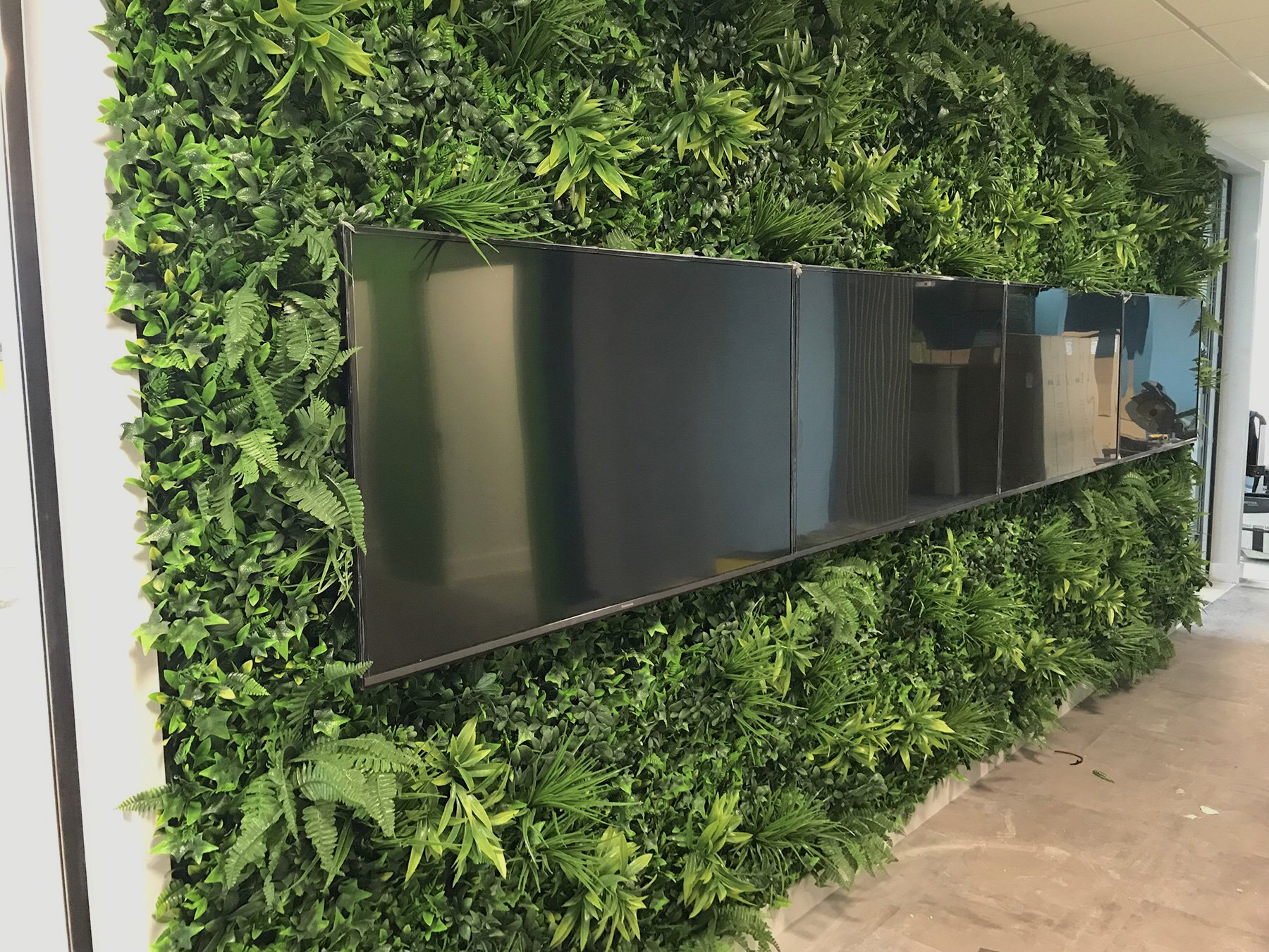 Jardines Verticales Artificiales - Variedad Selva