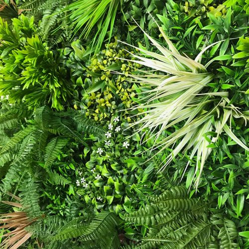 Jardines Verticales Artificiales - Variedad Tropical